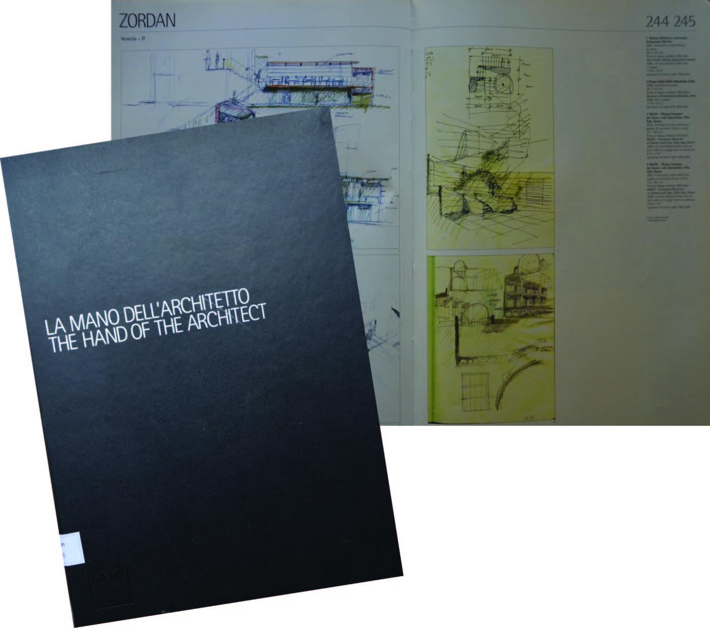 la mano dell'architetto, asta di disegni a favore di Villa Necchi, Milano
